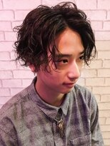 ゼロニイロク(026)《026 Style松坂良太》センターパートスパイラル