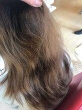 Before☆ケア開始前☆『髪が細くなってきてまとまらない...艶も無くなってきた...』