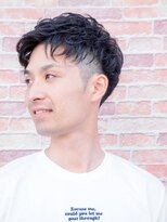 ベンケイ(HAIR AVENUE benkei)【夏イチオシ!】コントラストツーブロックアップバング