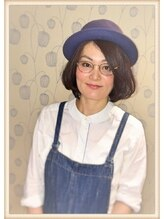 フェイバリット ヘアー プロデュース フィット(Favorite Hair Produce Fit)帽子オンボブ