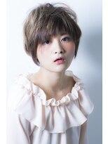 ゆるふわショート【miel hair blanc】