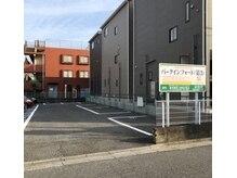 メンズヘアーファイン(Men's Hair FINE)の雰囲気(右側のスペースに2台駐車場あります。番号、13と14です。)