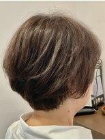 クロムヘアー(CHROME HAIR)大人のショートスタイル