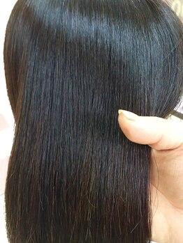 ヘアーサロン ティアレ(hair salon Tiare)の写真/とろけるような質感、仕上がりに感動!髪の細部にまで栄養が行き届き、潤いと艶のある美髪を実感♪