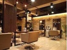 オーガニックサロン フェイス 梅田店(organic salon face)の雰囲気(優しい音楽とたくさんの緑が、静かに流れる時間を演出。)