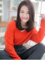 ■mod's上尾10-8★■美人オーラ…アシンメトリーストレート