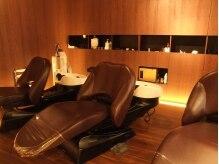 オーガニックサロン フェイス 梅田店(organic salon face)の雰囲気(癒しのシャンプールーム。心からリラックスできるひと時を…)