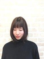 ナチュラルピー 総持寺店(Natural.P)☆フロントアシンメトリーリラックスボブ☆