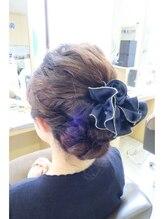 ジェイブルーヘアー 霞ヶ関(J.BLUE HAIR)パーティーヘア