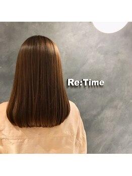 ヘア ストア リタイム(hair store Re-Time)の写真/●髪質改善●業界注目の酸熱トリートメントで髪を本来のカタチに、、、