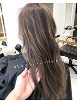 ラノバイヘアー(Lano by HAIR)【lano by hair 銀座】 フォギーベージュグラデーションカラー