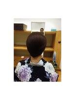 アチーブ 姫路店(Achieve)【Achieve】和髪のアップ Stylist by 高見