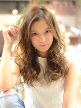 マリオ ヘアー デザイン(MARIO HAIR DESIGN)MARIO☆外国人風ふわくしゅ無造作セミディ