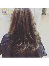 ヘアーオブジェ 末広店(Hair OBJET)バレイヤージュ