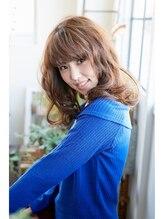 コトナ ヘアアンドリラックス 草加店(kotona Hair & relax)『愛され上手な♪』セミロングウェーブ