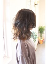 ココロヘアー 中島店(Cocolo hair)マットアッシュのインナーカラー(SIDE)