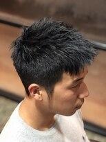 ディスパッチヘアー 甲子園店(DISPATCH HAIR)くせ毛を活かした坊主風ベリーショート