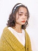 マグノリア オモテサンドウ(MAGNOLiA Omotesando)黒髪さんのゆるめスパイラルパーマ・・YOSHIBA