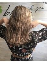 ブレス ヘアアンドスパ 湘南台(bless hair spa)ホワイトベージュ