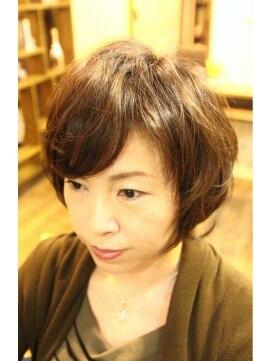 フェイスヘアクリエイション(FAITH HAIR CREATION)富岡佳子イメージ。・ショートスタイル