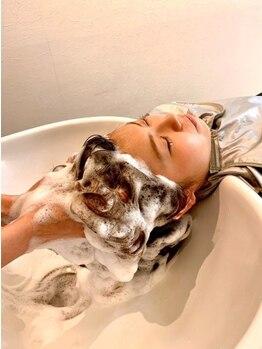 ルシードスタイルレアール LUCIDO STYLE LeRの写真/炭酸で地肌と髪をケア♪リラクゼーションの効果も♪