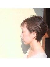 ヘアー デザイン ルーム ハレ(HAIR DESIGN ROOM hale)大人かわいいショートボブ
