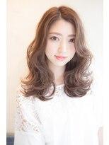 吉祥寺 アマンヘアー(Aman hair)ルーズ ふわミディXベージュカラー【Aman hair 吉祥寺】
