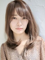 アグ ヘアー リノ 大名店(Agu hair reno)ワンカールでヘルシー美人ミディアムヘア