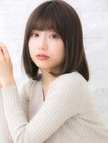 ヘアサロン ナノ(hair salon nano)大人可愛い☆重ためミディアムボブ