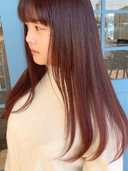 """アロー ヘアー(arrow hair)の写真/【イルミナカラー取扱い★】ファッションカラーもグレイカラーもオシャレに♪""""絶妙な色味""""を実現します◇"""