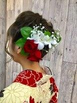 ヘアースペース ムーン(Hair Space MOON)袴や着物のヘアーセットと着付は北区表町ヘアスペースムーンで!