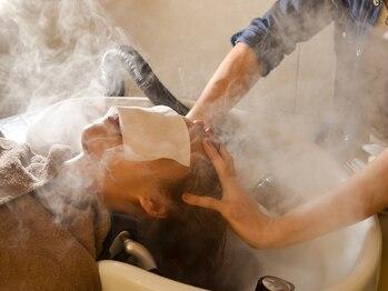 ヘアーズアンドアルファ(Hairs&Alpha)の写真/オーガニック認証機関[ICEA]の認証を得た《ヴィラ・ロドラ》使用の【オーガニックヘッドスパ】が大人気♪