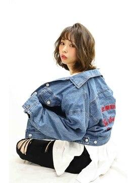 ロココ(hair design rococo)[rococo]360°美シルエット☆小顔ミディアムボブ