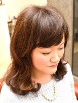 リール ヘアーアンドカンパニー(Rire Hair&Co.)【Rire Hair&Co.】ふんわりやわらか愛されミディ