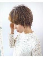 パフューム バイ アフロート 松戸八柱(Perfume by afloat)大人かわいいフォルムの綺麗なショート20代、30代、40代