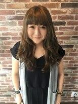 ヘアメイク オブジェ(hair make objet)外国人風ゆるふわロング