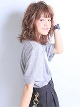 カチーナ 三軒茶屋(CACHINA)愛されふわふわミディ☆イルミナカラー【三軒茶屋】