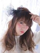 オジコ(ojiko)☆月曜営業☆ojiko.大人可愛いフェミニンハーフアップ