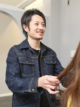 ソラヘアー(SOLA hair)の写真/ハーブ系で頭皮に優しい商材を使用!!カラーの時にしみやすいと感じてしまいやすい方にもオススメ◎