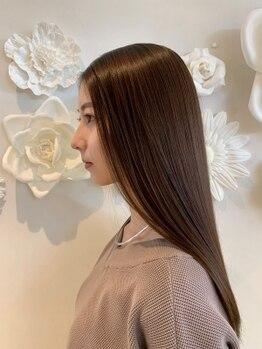 キップヘアー(Kip Hair.)の写真/実力派オーナーのマンツーマン施術◎ライフスタイルに合わせて、扱いやすく360°美シルエットな仕上がりへ