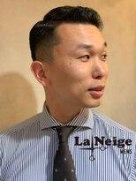 ラネージュプラス(La+Neige)ビジネスマンのフェードスタイル