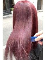 キャラ 池袋本店(CHARA)髪質改善サラサラカシスバイオレット【キャラ池袋/池袋/佐々木】