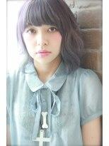 アリス ヘア デザイン(Alice Hair Design)Alice☆ピーコックカラー×グレープ