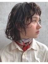 ビジョンアオヤマ (VISION aoyama)レイヤーボブと透明感カラー