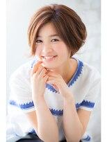 ジョエミバイアンアミ(joemi by Un ami)【joemi】愛される☆カット+パーマでふんわりボブ(大島)
