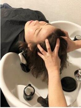 アロー ヘアー(arrow hair)の写真/【頭皮から美しく健康な髪に―】普段落しきれない汚れを落とし清潔な頭皮に導く!カラーやパーマの後にも◎