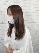 ヘアーアンドリフレ ドゥゼル(Hair&Refle Deux Alies)髪質改善+シークレットカラー