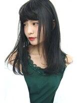 フェス カットアンドカラーズ(FESS cut&colors)【カーキグレージュ】ナチュラルワンカールヘア『FESS 鶴丸』