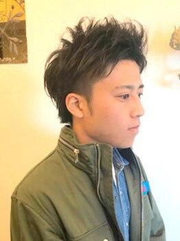 フィオーレヘアミューズ(FIORE hair muse)の写真/【メンズ限定◆カット+クイックスパ¥3900】カジュアルからビジネスまで!似合わせカットで万能スタイルに♪