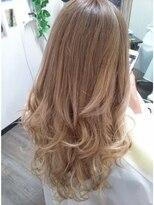 ヘアーグランデシーク(Hair Grande Seeek)人気のミルクティーベージュグラデcolor